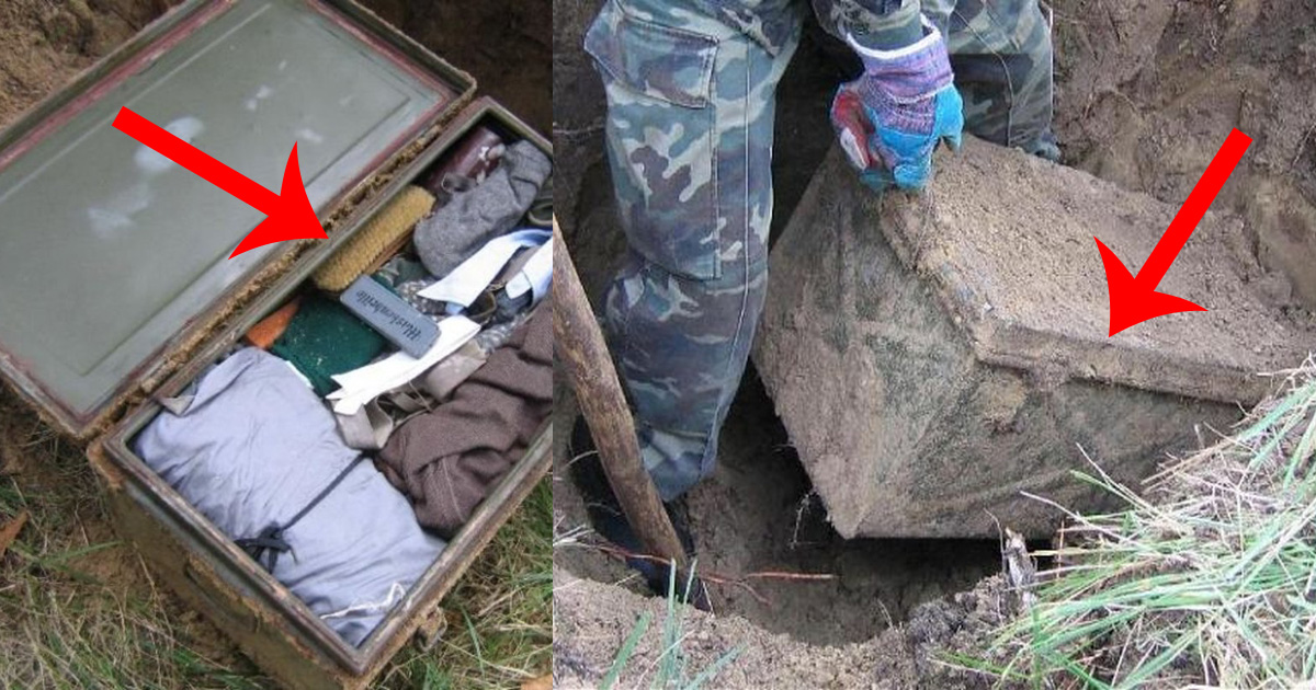 Unearthed WWII Lock Box Found In Russia