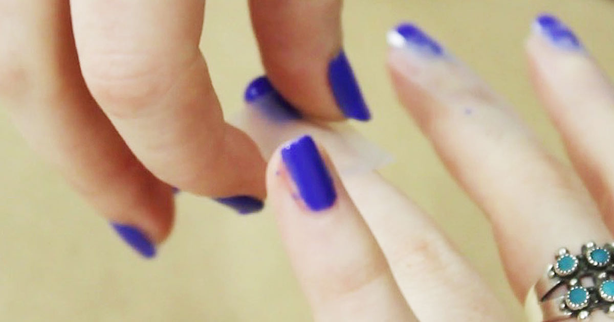 Create A Beautiful Color Blocked French Manicure With Just One Tool