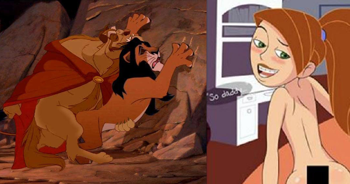 23 Photos Of Beloved Cartoons Ready To Completely Destroy Your Childhood