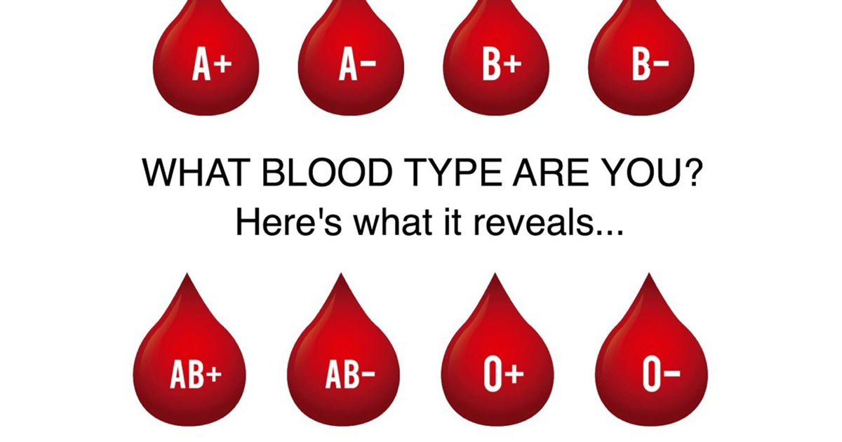 How Your Blood Type Defines Who You Are Entirely