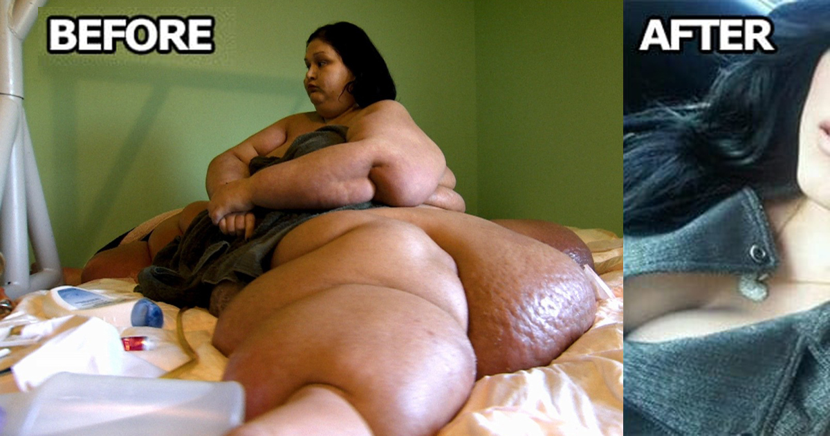 1000 Pound Woman Drops 800 Pounds In Order To Begin Her New Life