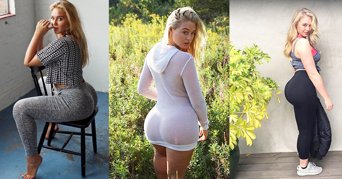 Plus-Size Model Shows Off Her Booty In A Photoshoot And The Internet Goes Nuts