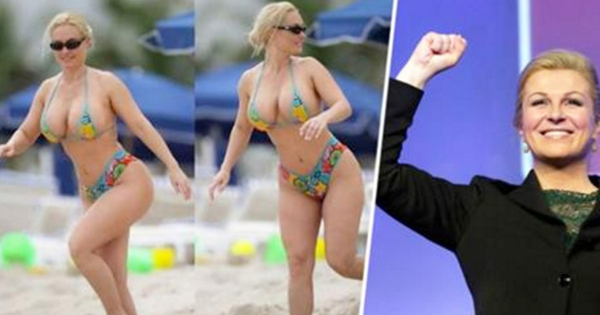 Social Media Freaks Out Over Beach Images Of The President Of Croatia
