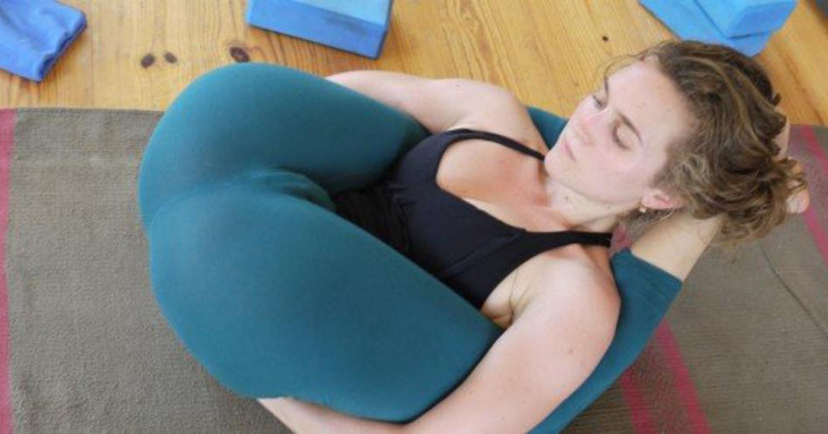 Does She Have Any Idea We Can See Straight Through Those Yoga Pants?