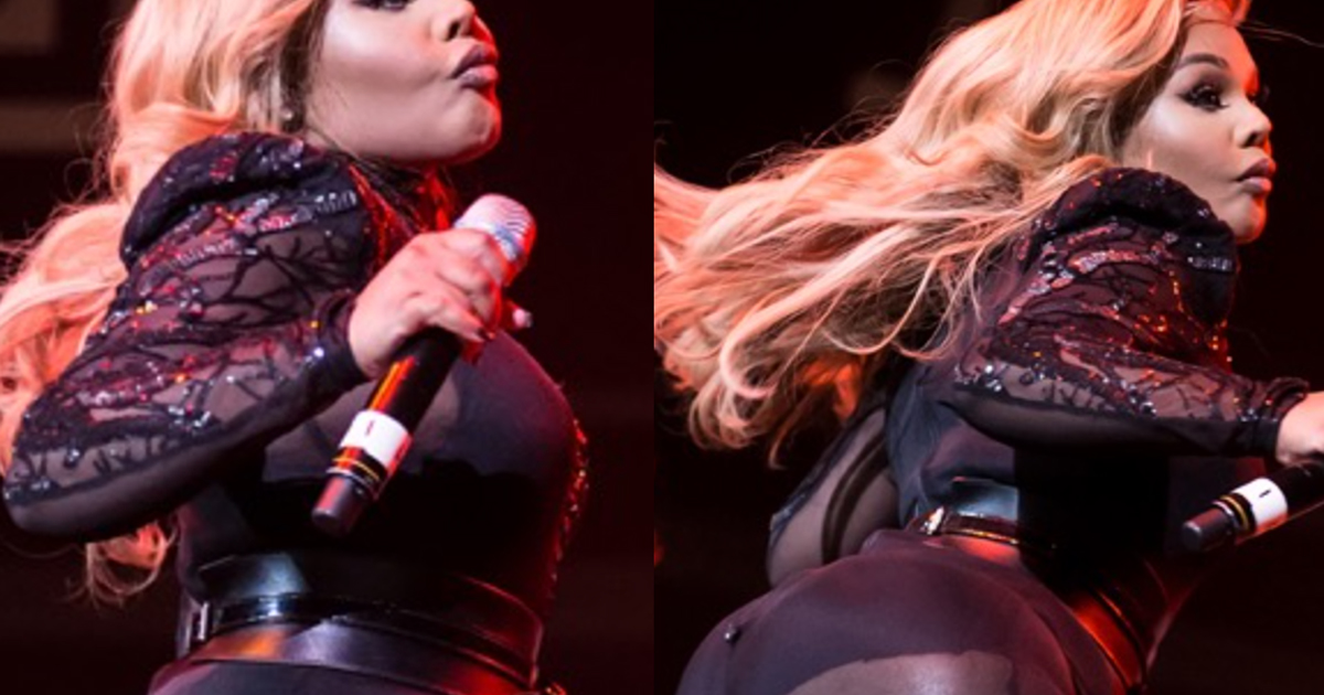 Lil Kim Has Gotten Butt Injections That Have Made Her Butt So Big She Can Hardly Walk!