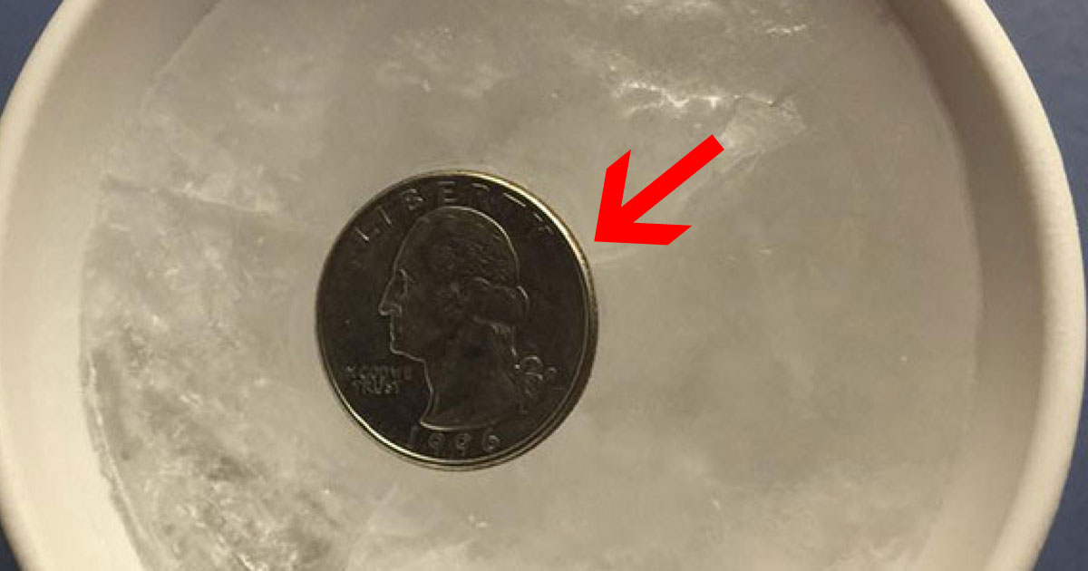Why You Should Always Leave A Coin In Your Freezer Before Leaving Home