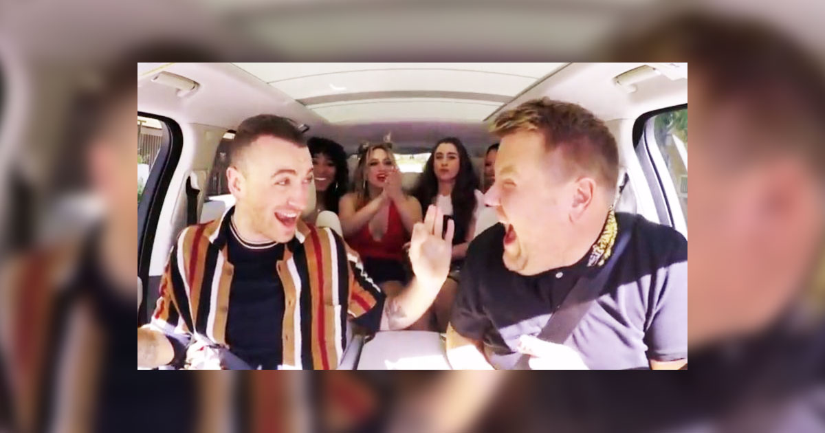 James Corden Surprises Sam Smith With His Favorite Band During An Epic Rendition Of Carpool Karaoke