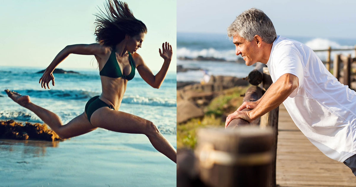 High Levels Of Intense Exercise Can Shave 9 Years Off Your Biological Age