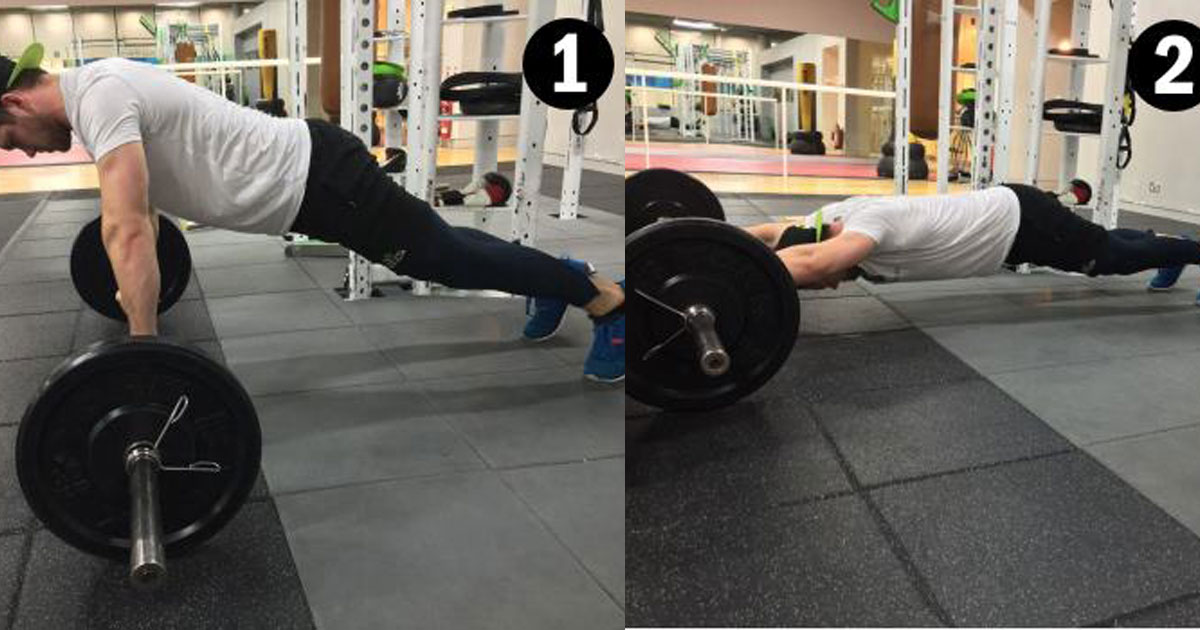 6 of The Best Barbell Exercises For A Strong Core