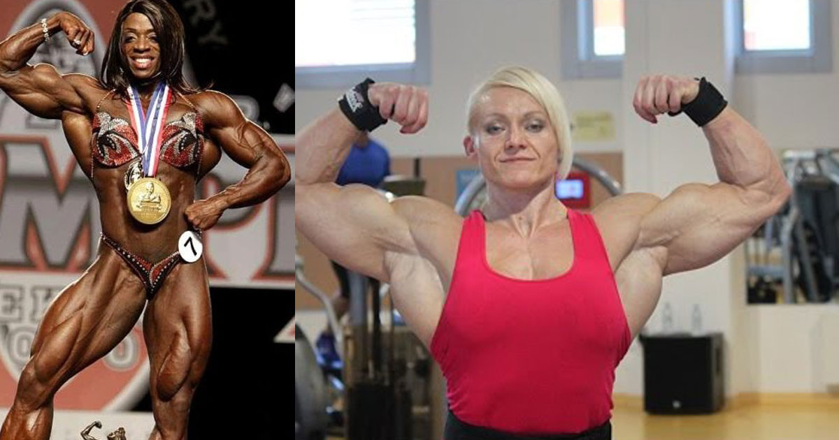 You Won't Believe How Massive These 9 Female Bodybuilders Are