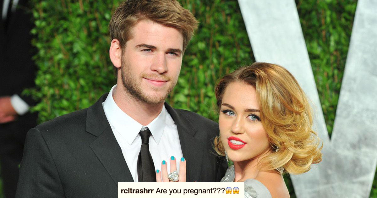 People Are Completely Convinced Miley Cyrus Is Pregnant After Posting This Thanksgiving Photo