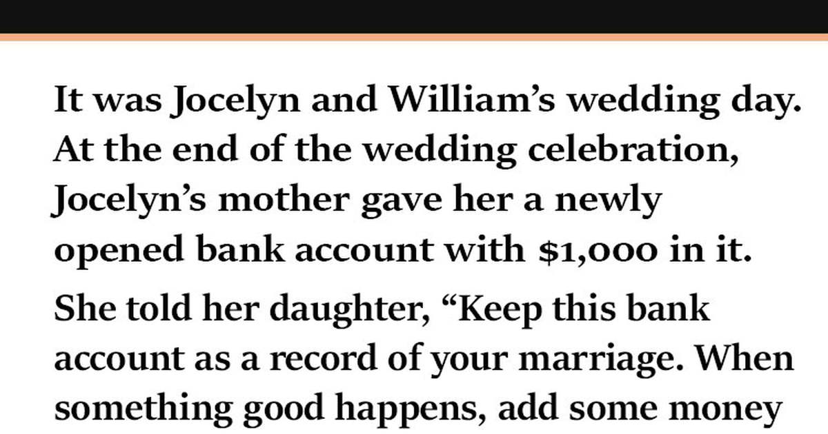Young Couple On The Verge Of Divorce, But A Forgotten Bank Account Set Up By Mom Saves Their Marriage