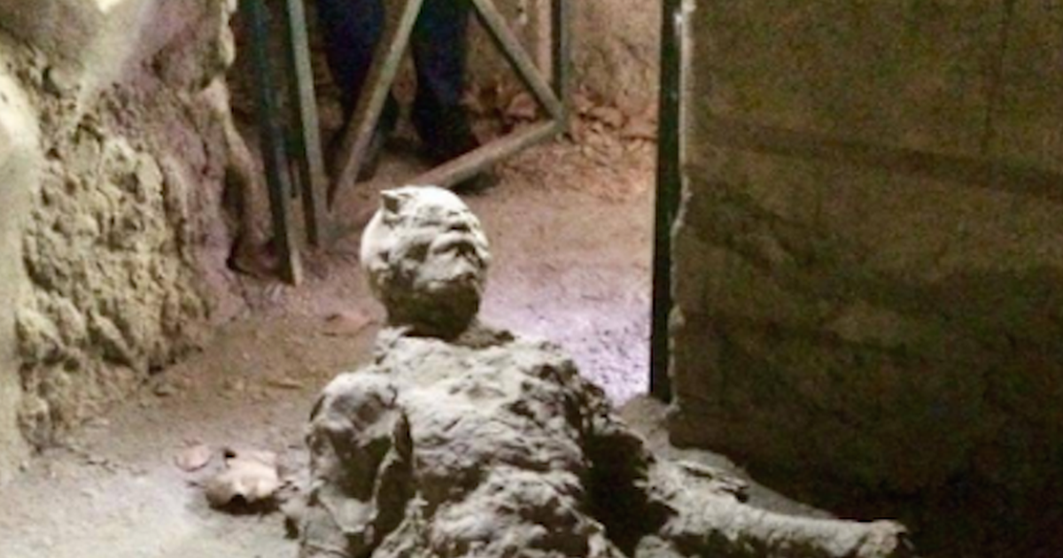 Masturbating 2,000-Year-Old Pompeii Volcano Victim Is Going Completely Viral