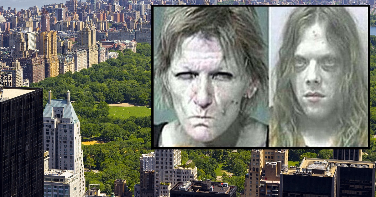 Couple On Meth Arrested For Trying To Eat Homeless Man In Central Park