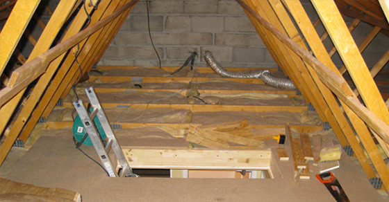 Ein dunkler, unheimlicher Dachboden wird völlig verwandelt, das musst Du Dir ansehen!