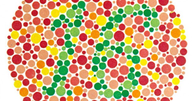 how to pass a color blind test