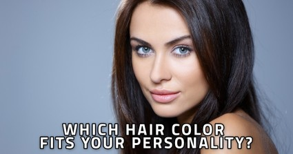 Which Hair Color Fits Your Personality?
